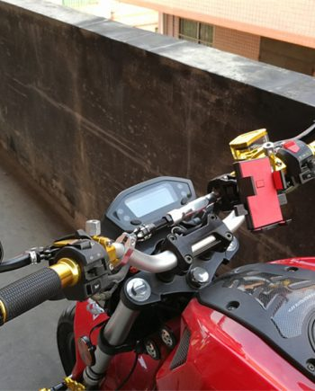 motorcycle bar end mirror
