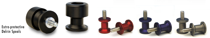 woodcraft motorcycle swingarm spools